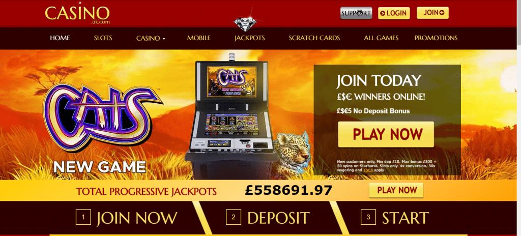 casino დიდი ბრიტანეთი